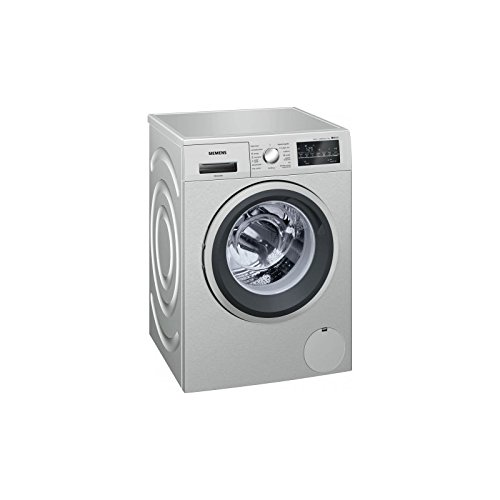 Siemens iQ500 WM14T49XES Independiente Carga frontal 8kg 1400RPM A+++ Acero inoxidable -...