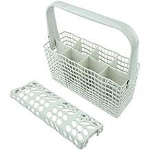 Spares2go - Cesta de cubiertos para lavavajillas Ikea RDW45 RDWTI60 (gris, 255 x 230