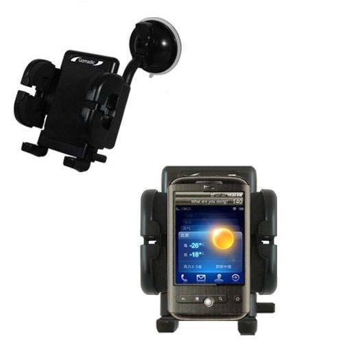 HTC Buzz Windschutzscheibenhalterung für KFZ / Auto - Cradle-Halter mit flexibler Saughalterung für Fahrzeuge