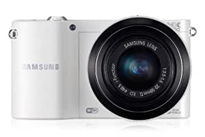 Samsung NX1000 Kit compact hybride 20,3 Mpix Wifi Blanc + Objectif 20-50 mm Blanc