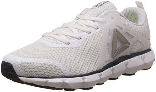 Reebok Men's Hexaffect Run 5.0 Mtm Wht, Navy, Pewter and Blk Running Shoes - 11 UK/India (45.5 EU) (12 US) (BD4699)