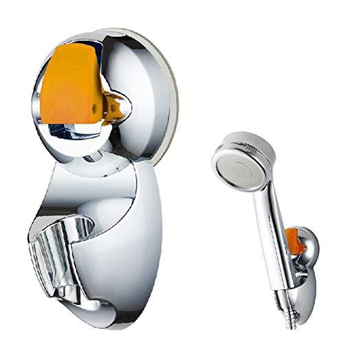 Luxury-uk Einfache Dekoration Duschkopf Halter Saug Universal verstellbare Duschkopf Halter Cupula Saugsprenger Base