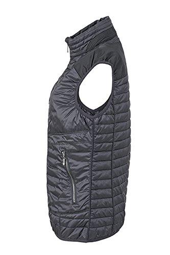 James & Nicholson Lightweight Vest Outdoor Occident noir/argent