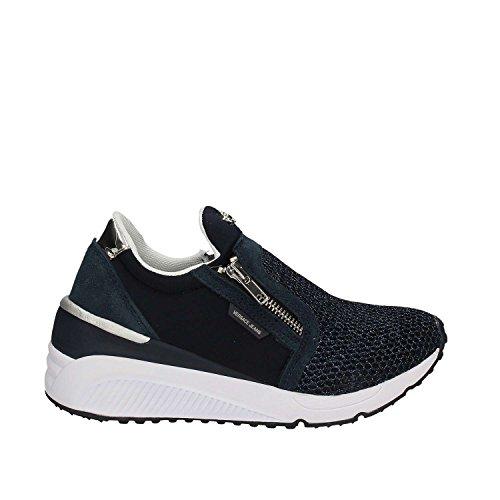 Versace Jeans Sneaker Donna DisF2 Neoprene+Mesh E0VPBSF2M27, Scarpe sportive Blu