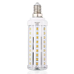 LED E14 Fassung Mais Birne BRIGENIUS Beleuchtung 3000K Leuchtmittel Corn Light Ersatz 70W Warmweiß Energiesparlampe 9W für Wandlampen Tischlampen Deckenlampen Hängendes Licht [Energieklasse A+] [Energieklasse A+]