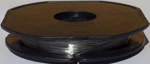 10 Meter Titandraht Ø 0,39mm - AWG 26 (Grundpreis: EUR 0,70/m) Titan Draht - Grad 1 - titanium wire 0.015