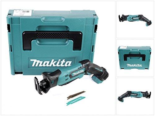 Makita JR 103 DZJ 10,8 V Akku Säbel Reciprosäge Solo im Makpac 1 Systemkoffer