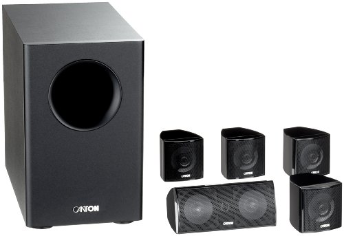 Canton Movie 85 CX 2-Wege 5.1 Lautsprecher-System schwarz