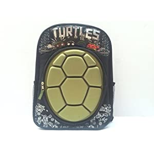 41TUWQqderL. SS300  - Teenage Mutant Ninja Turtles Shellshock Hard Shell Large 16 Inch Mochila