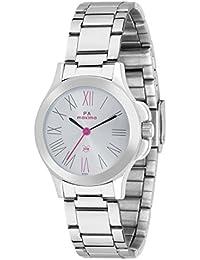 Maxima Analog Silver Dial Women's Watch - 42900CMLI