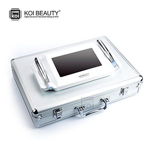 Koi Beauty stesso elettrico Derma piuma e durevole trucco della macchina del tatuaggio, colorata digitale touch screen, Derma piuma u. pmu macchina. Eyebrow Lip corpo Pen, Digital Tattoo Kit, Anti Aging, rimuovere Stretch Marks rughe.