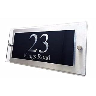 Martello Customised Designer House Number Plaque