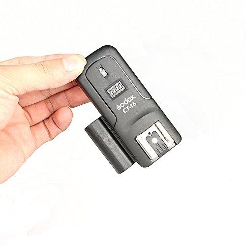 Godox CT-16Blitzauslöser-Receiver für Canon Nikon Pentax Olympus Studio Flash, 16Kanäle, drahtlos (Vivitar Auto-blitz)