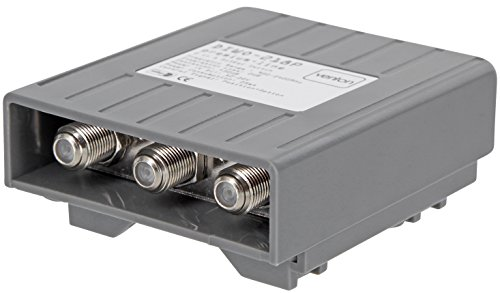 Venton DiseqC-Schalter Switch U-HD 2 Eingänge 1 Ausgang Umschalter für LNB Signal mit Wetterschutzgehäuse 2 Satelliten 1 Teilnehmer Sat-Receiver kein Multischalter von MultiKom (1 x Diseq 2/1)