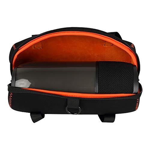 Für JBL Pulse 3 Bluetooth-Lautsprecher Hülle Case Weiche Hard Travel Tragetasche Aufbewahrungskoffer wasserdichte tragen Fester Aufbewahrungskoffer Hardcase Schutzhülle Case Cover (Black) 3 Hard Case Travel Cover