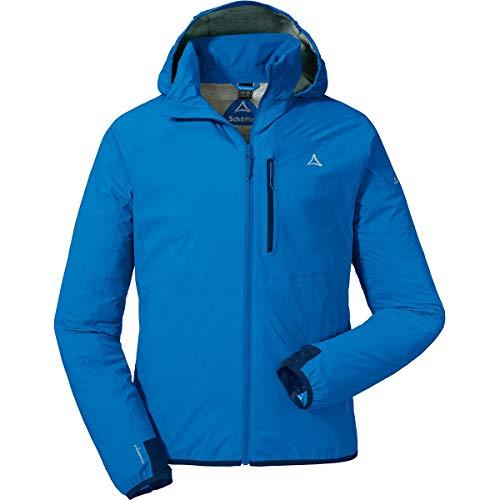 Schöffel Jacket Toronto2 Herren Hardshelljacke, wind- und wasserdichte Herren Jacke mit verstaubarer Kapuze, atmungsaktive Regenjacke für Männer