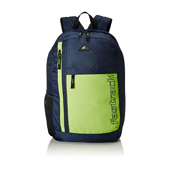 Fastrack 24.09 Ltrs Blue School Backpack (A0690NBL01)
