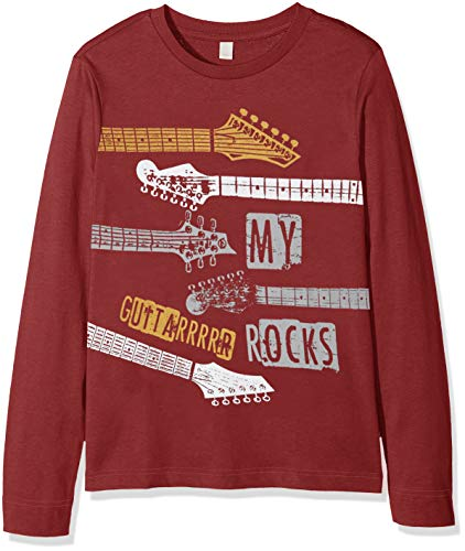 ESPRIT KIDS Jungen T-Shirt Tee for Boy, Rot (Bordeaux 390) (Herstellergröße: 128+)