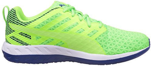 Puma Flare Q2 Filt, Chaussures de course homme Green Gecko / White / Surf The Web