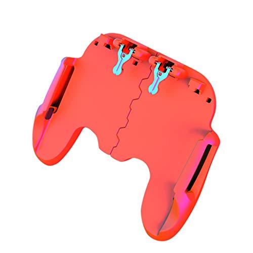 Spielkonsole Tragbare, CHshe Gamepad Controller Mobile Trigger Spiel Konsole Feuerknopf Shooter Joystick Spielkonsole Für Handy Ios Android Smart Phone