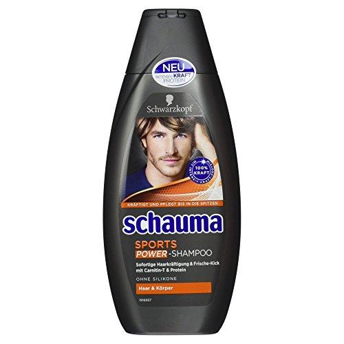 Schauma Sports Shampoo für Männer, 400 ml
