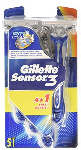 Gillette Einwegklingen Sensor 3, 4 Stück