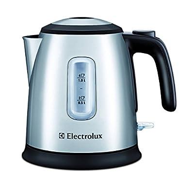 Electrolux EEWA5200 Mini Bouilloire sans Fil Inox Brossé / Réglisse