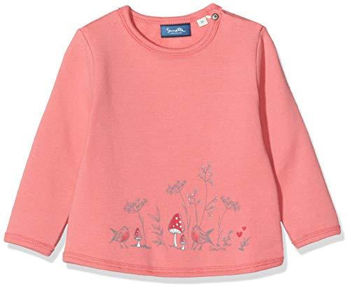 Sanetta Baby-Mädchen Sweatshirt, Rosa (Winter Rose 3907), 80 (Herstellergröße: 080)