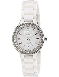 (CERTIFIED REFURBISHED) DKNY Analog White Dial Women's Watch - NY4982I