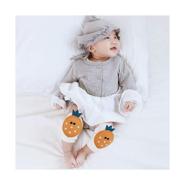 Haokaini 1 par de Almohadillas de Rodillas para Bebés Protector de Rodillas para Bebés Calentador de Piernas Alfombra de… 5