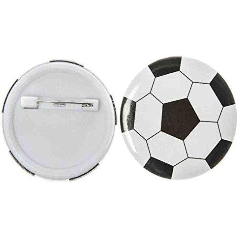 Fußball Button 12 Stück (Fußball-buttons)