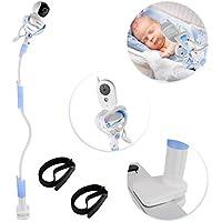 Sunix Soporte para Cámara de Bebés, Soporte para Monitor de vídeo Infantil y Estante, Soporte para Cámara Flexible para la Mayoría de Teléfonos & Monitores de Bebés
