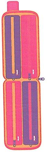 Estuche milan kit 4 estuches con contenido colours rosa