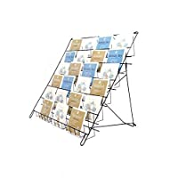 6 TIER LARGE COUNTER FOLDABLE STAND FOR GREETING CARDS AND DVD