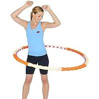 Health Hoop Aro Hula Hoop magnético desmontable, con 48 imanes, 1.2 kg