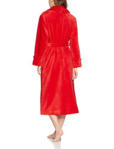 Iris & Lilly Damen Superweicher Bademantel Rot (New Red)