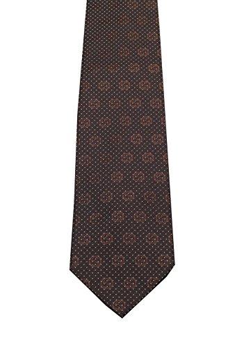 Männer Gucci-krawatten Für (CL - Gucci Brown Patterned Logo Tie)