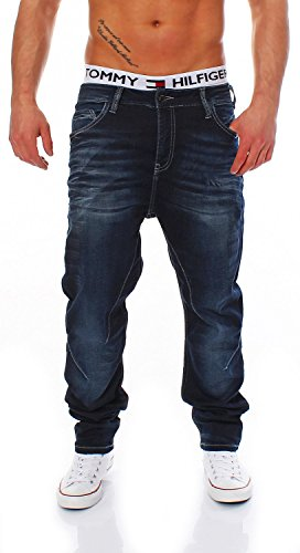 CIPO & BAXX - C-44005 - Carrot Fit - Men / Herren Jogg Jeans Hose Blau