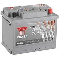 YUASA - BATTERIE YUASA YBX5027 SILVER 12V 62Ah 600A