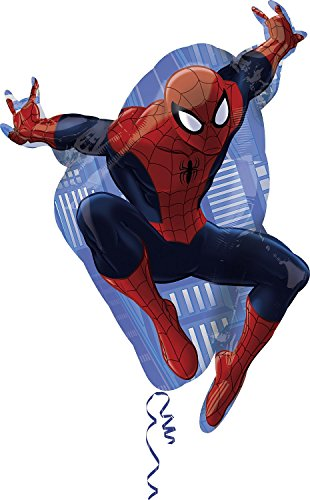 Preisvergleich Produktbild Anagram 2634001 - Party und Dekoration - Folienballon Super Shape - Ultimate Spiderman, circa 73 x 43 cm
