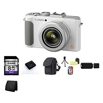 Panasonic Lumix DMC-LX7 Point and Shoot Camera (White)