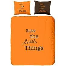 housse couette 200x220 orange. Black Bedroom Furniture Sets. Home Design Ideas