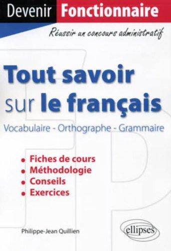 Tout savoir sur le français catégorie B & C