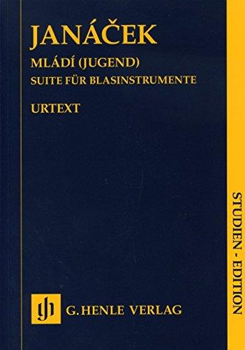 MLADI (JUGEND) - arrangiert für Querflöte - Oboe - Klarinette - Waldhorn - Fagott - Bass-Klarinette [Noten / Sheetmusic] Komponist: JANACEK LEOS aus der Reihe: STUDIEN EDITION