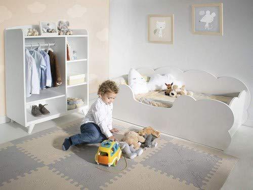 Letto Per Bambini Montessori : Bainba letto bambini montessori nuvola  cm