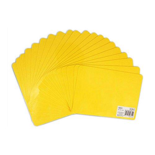 Liu Yu·Bureau, papeterie, fournitures, jaune, copie, tableau, padboard, écriture, tableau 174 * 123mm20 pcs/set