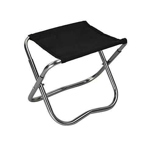 Xuan S Klappstuhl Aluminium Oxford Stoff Klapphocker, Camping Strand Brennen Bratenfischen Stuhl, Outdoor Klapphocker