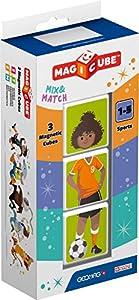 Geomag- Magicube Mix & Match Juguetes de construcción, Multicolor, 3 Piezas (111)