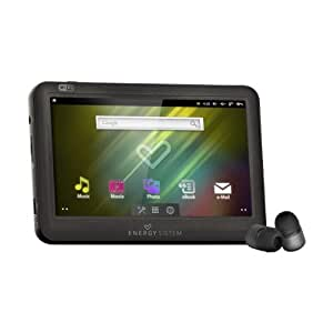"Energy Sistem™ Energy Android™ Media Player 8GB 6308 Dark Iron (Pantalla táctil 4.3"", 16:9, Wi-Fi)"