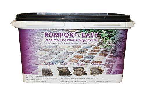 Romex Pflasterfugenmörtel ROMPOX EASY 25 kg-Eimer BASALT (3,28€/kg)